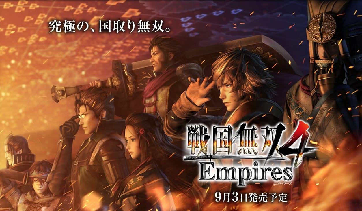 Kenali Sejarah Jepang Lebih Dekat di Samurai Warriors 4: Empires - Jonooit